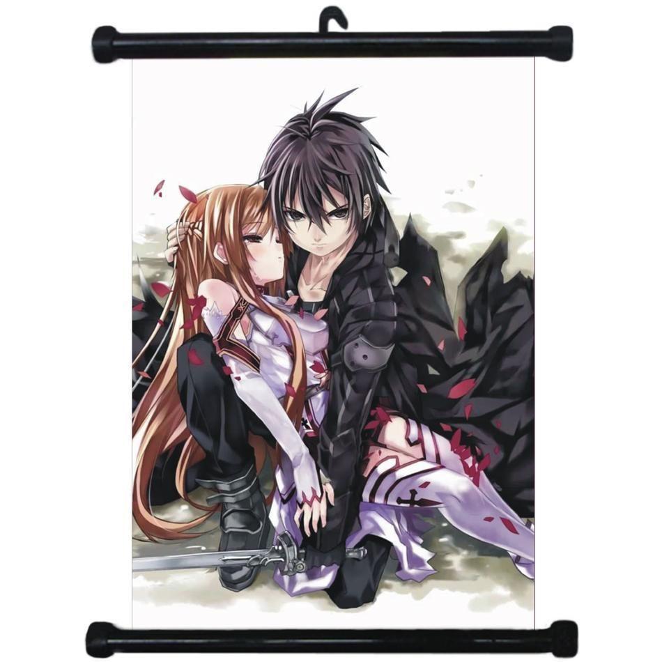 sp210986 Sword Art Online Japan Anime Home Decor Wall Scroll Poster 21 x 30cm