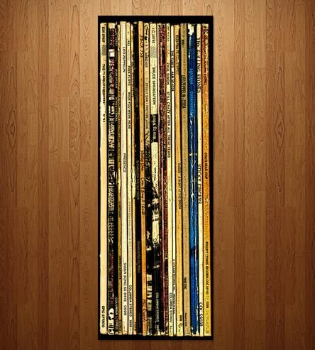 Big Rock Album Wall Art by Bughouse on Scoutmob Shoppe