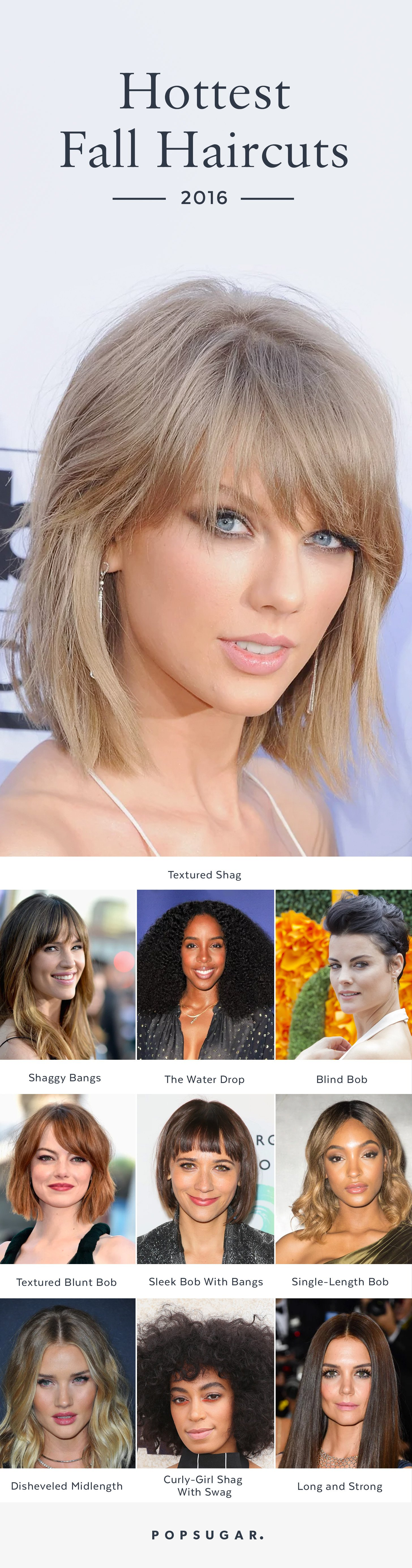 We re Calling It These Are the 10 Hottest Haircuts For Fall 2016