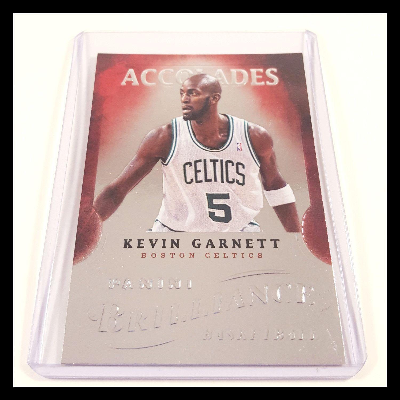 Kevin Garnett Special Insert Basketball Card (2012-13 Panini Brilliance)