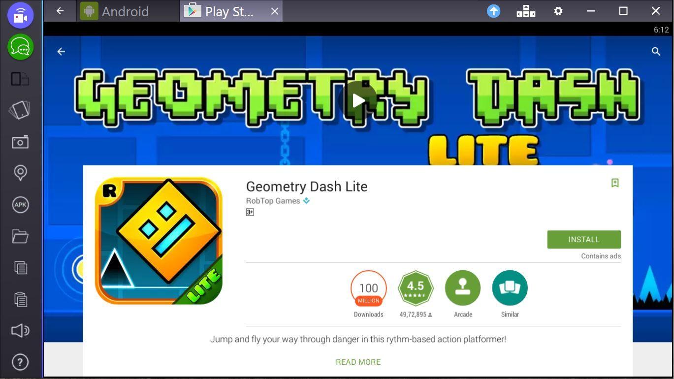 geometry dash download pc windows 7