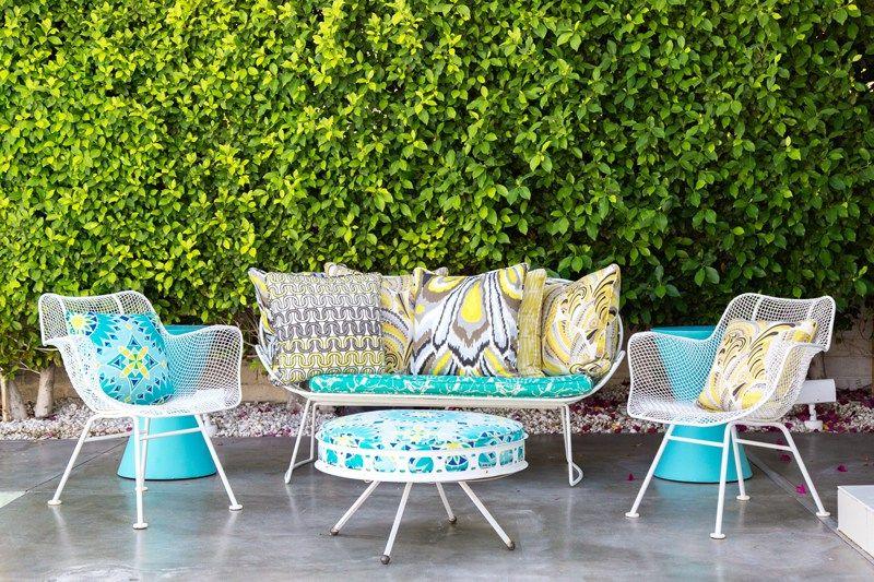 Mid Century Modern Patio Furniture, Outdoor Patio Furniture Palm Desert Ca