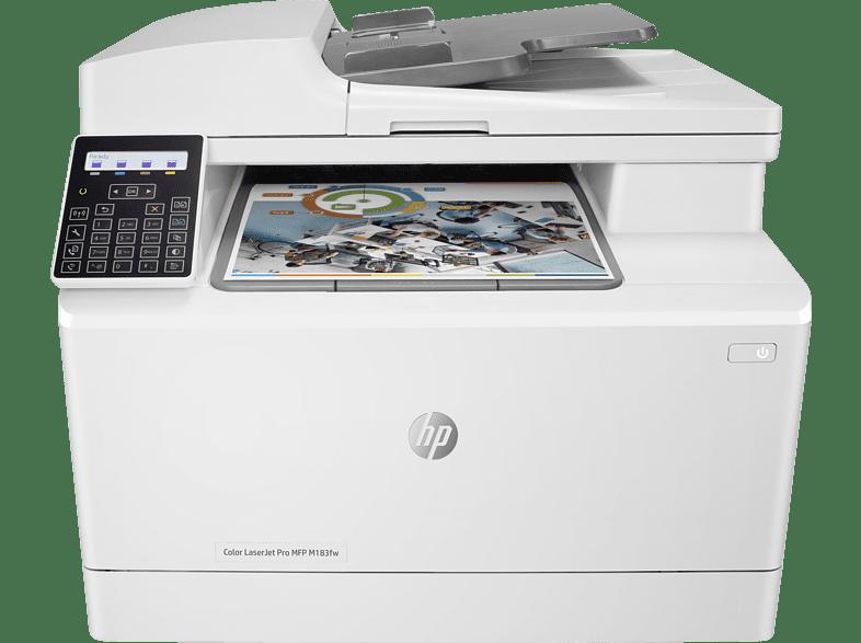 Laserdrucker Hp Mfp M183fw Laser Laserdrucker Wlan Laser Mediamarkt In 2021 Laserdrucker Laser Led Drucker Scanner