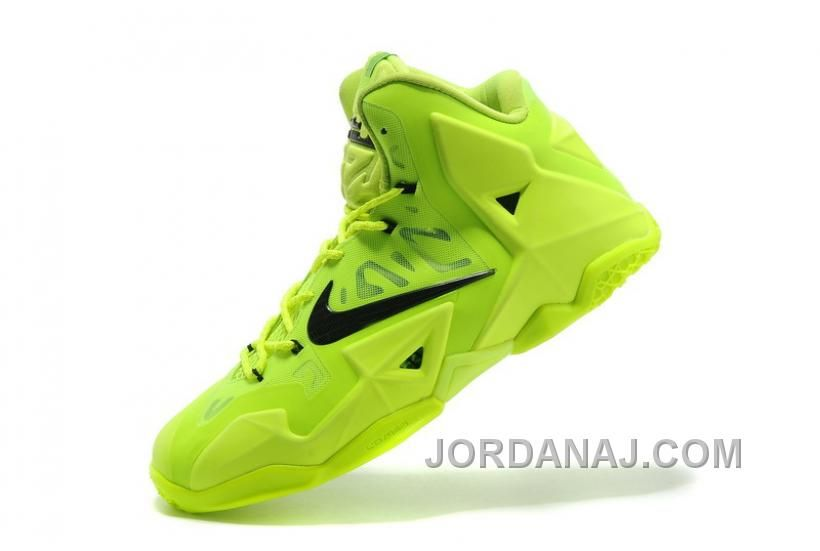 3132cd735efd Online For Sale New Nike LeBron 11 Volt Green Black
