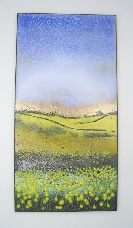 Wall Panels - Carol griffin Enamels | Glass on metal | Pinterest ...