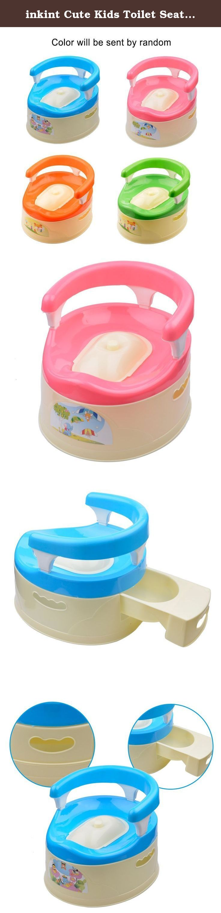 Inkint Cute Kids Toilet Seat Training Potty Urinal Portable Small Size Baby  Toilet Trainer For 8