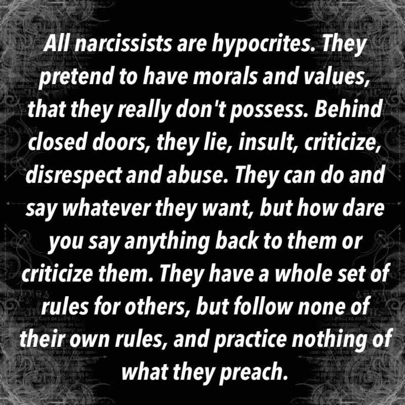 Image result for narcissist never sorry