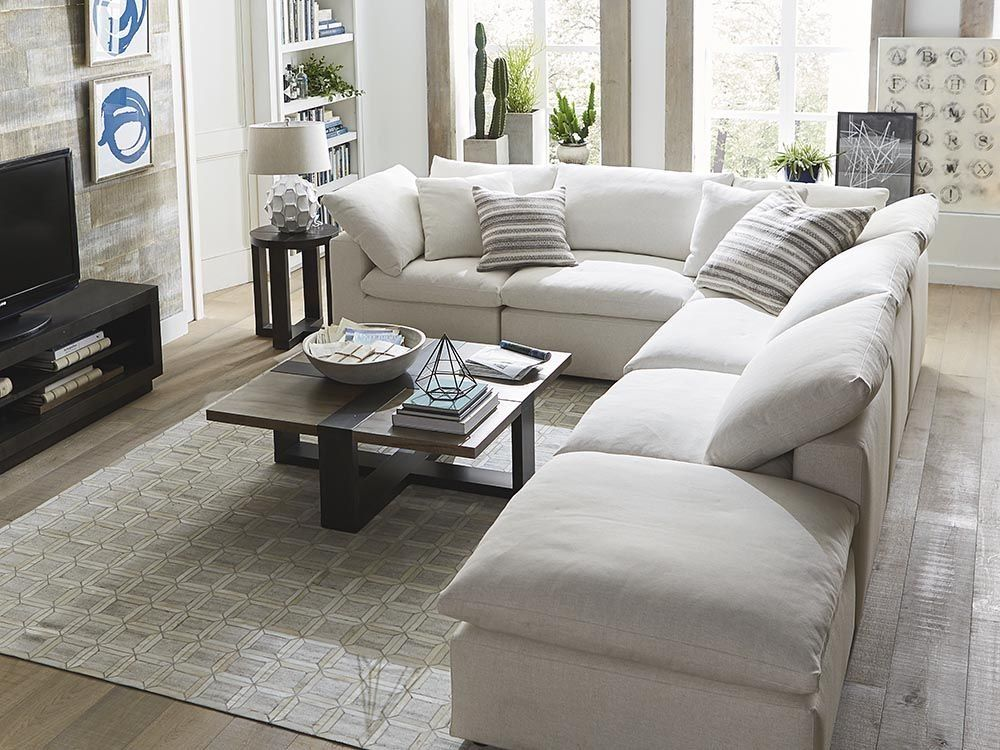 Cloud 9 Sectional Also Similar Room Layout In This Version We Might Add One Cool Lounge Cha L Shaped Living Room Elegant Living Room Cheap Living Room Sets #u #shaped #living #room #layout