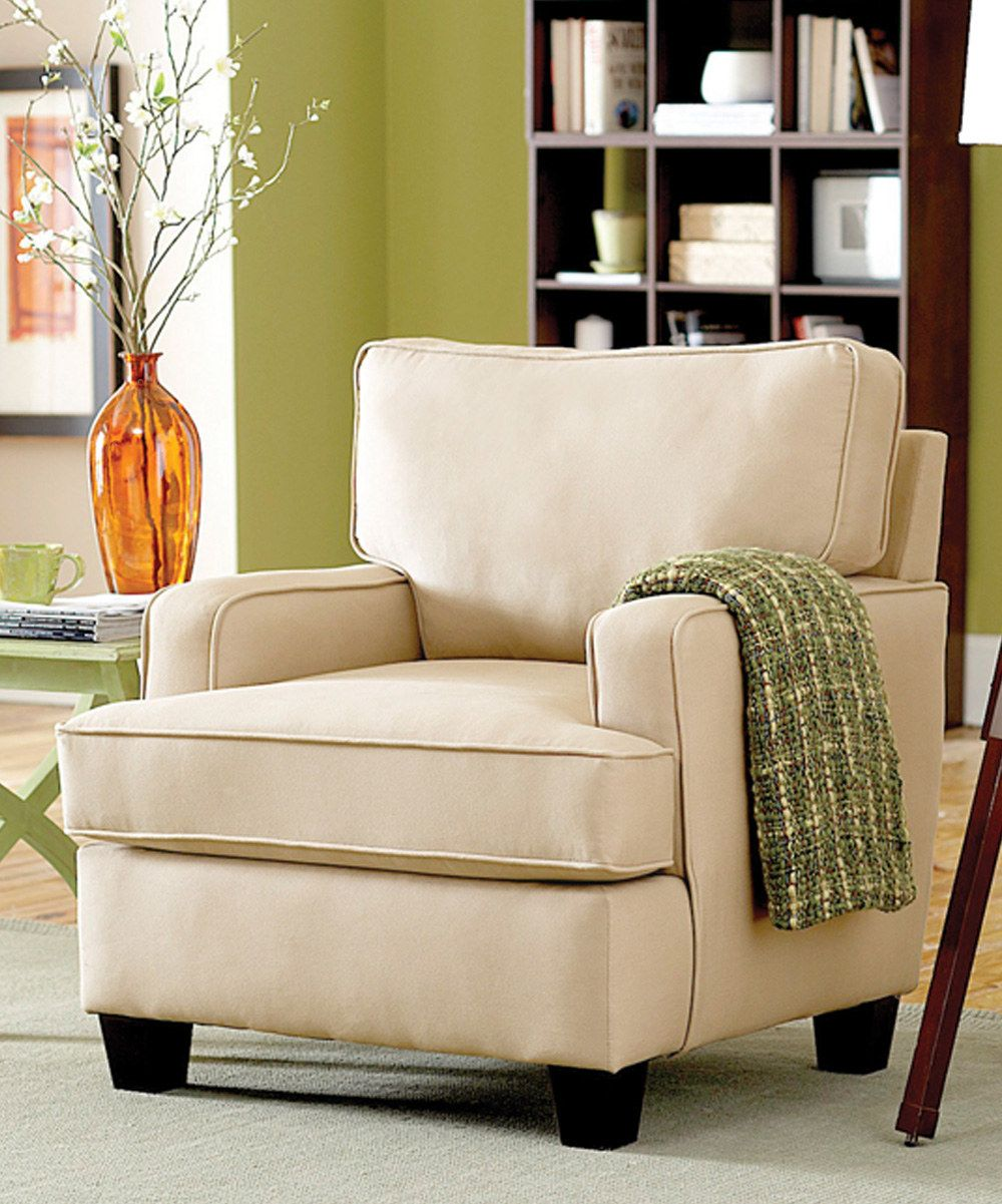 Look At This Ivory Callie Chair On #zulily Today  Remodeling Delectable Yellow Living Room Chairs Inspiration Design