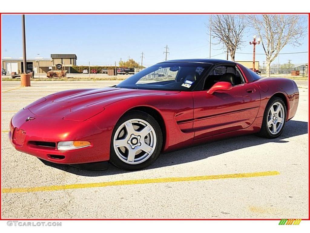 1999 Magnetic Red Metallic Corvette 2 733 Units