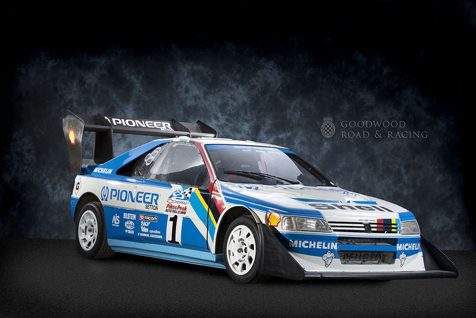 Goodwood Greats Peugeot 405 T16 Pikes Peak  Awesome stuff