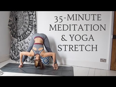 MEDITATION & YOGA STRETCH 35Minutes All Levels CAT