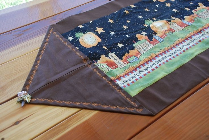 10 Minute Table Runner Pattern Free Ten Minute Table Runner 10 Minute Table Runner Quilted Table Runners Table Runner Pattern