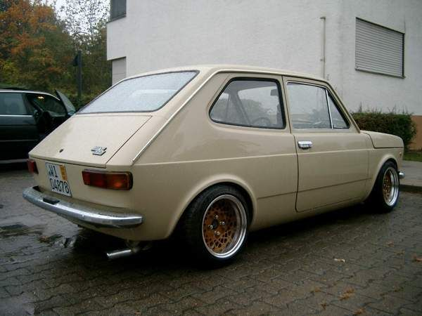 The Amazing Beige Fiat 127 Retro Rides Carros Auto Motocicletas