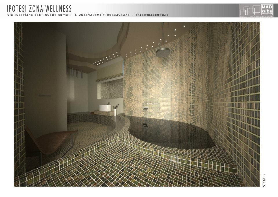 new bathroom concept  @M.A.D. Cube Architects Architects