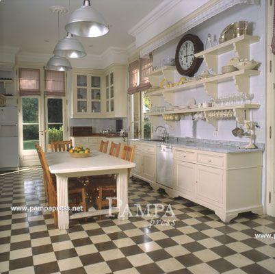 La cocina de la casa de Paula Cahen D´Anvers