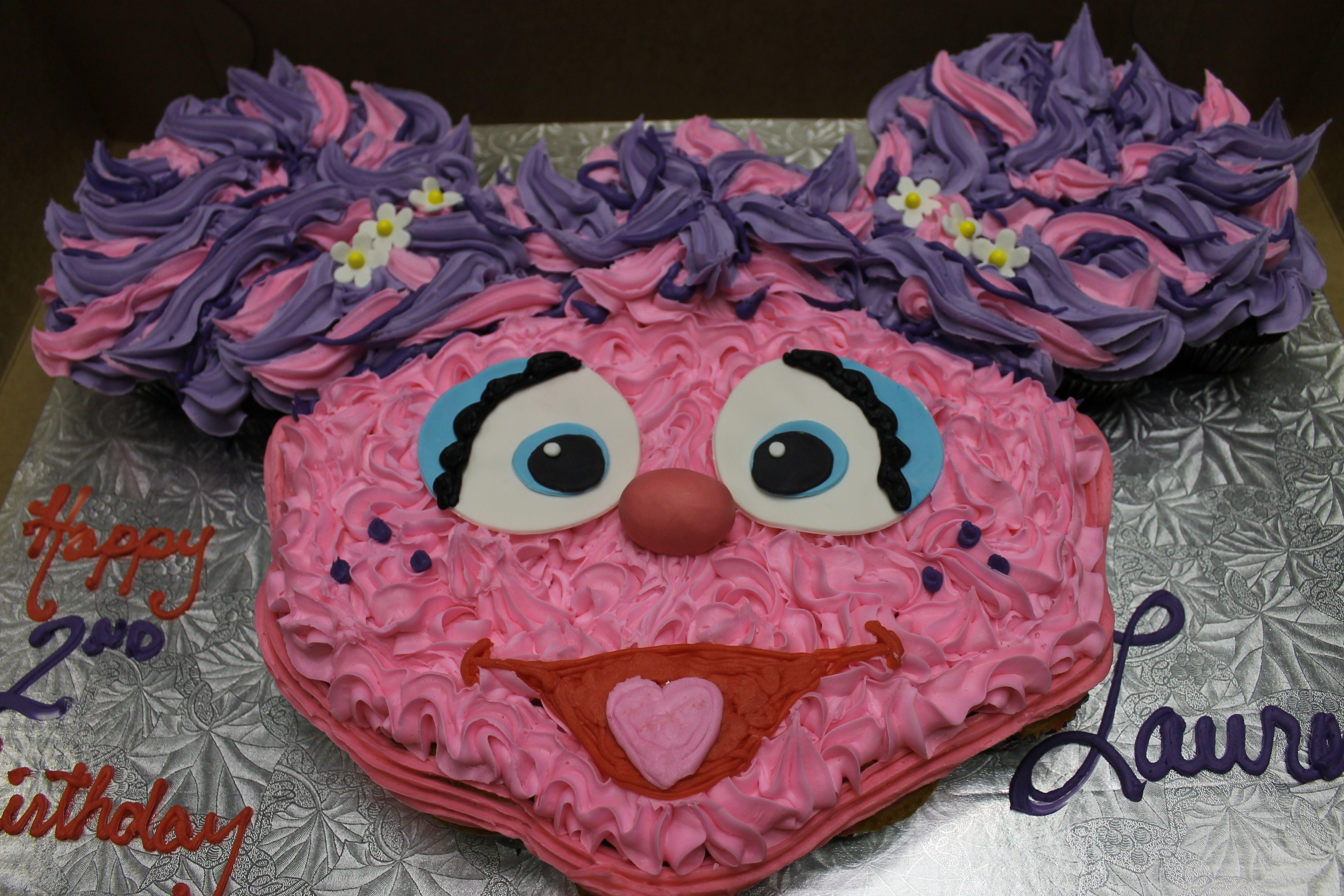 Abby Cadabby Cupcake Cake Cupcake Cakes Birthday Desserts
