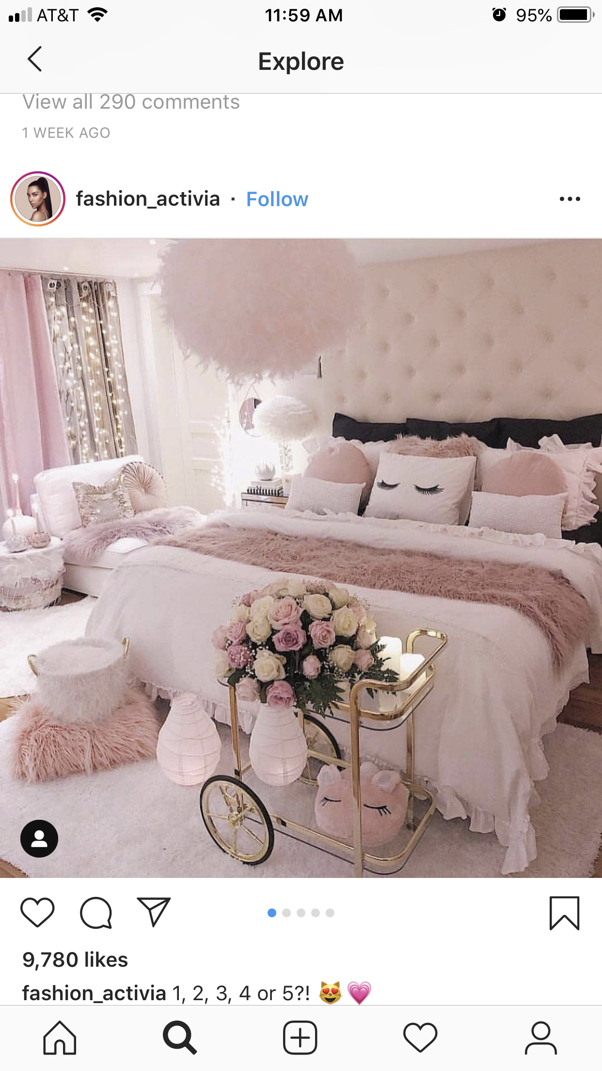 Pin By Annika S On Bedroom In 2019 Decor Pink
