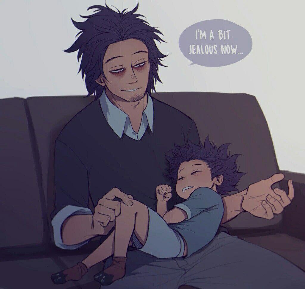 My Hero Academia - Shinsou Hitoshi & His Father   My hero