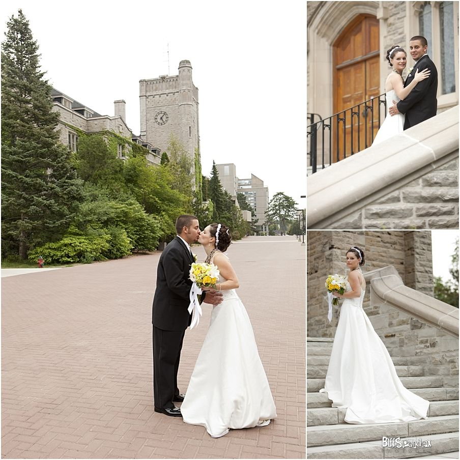Getting Married On The University Of Guelph Campus. A