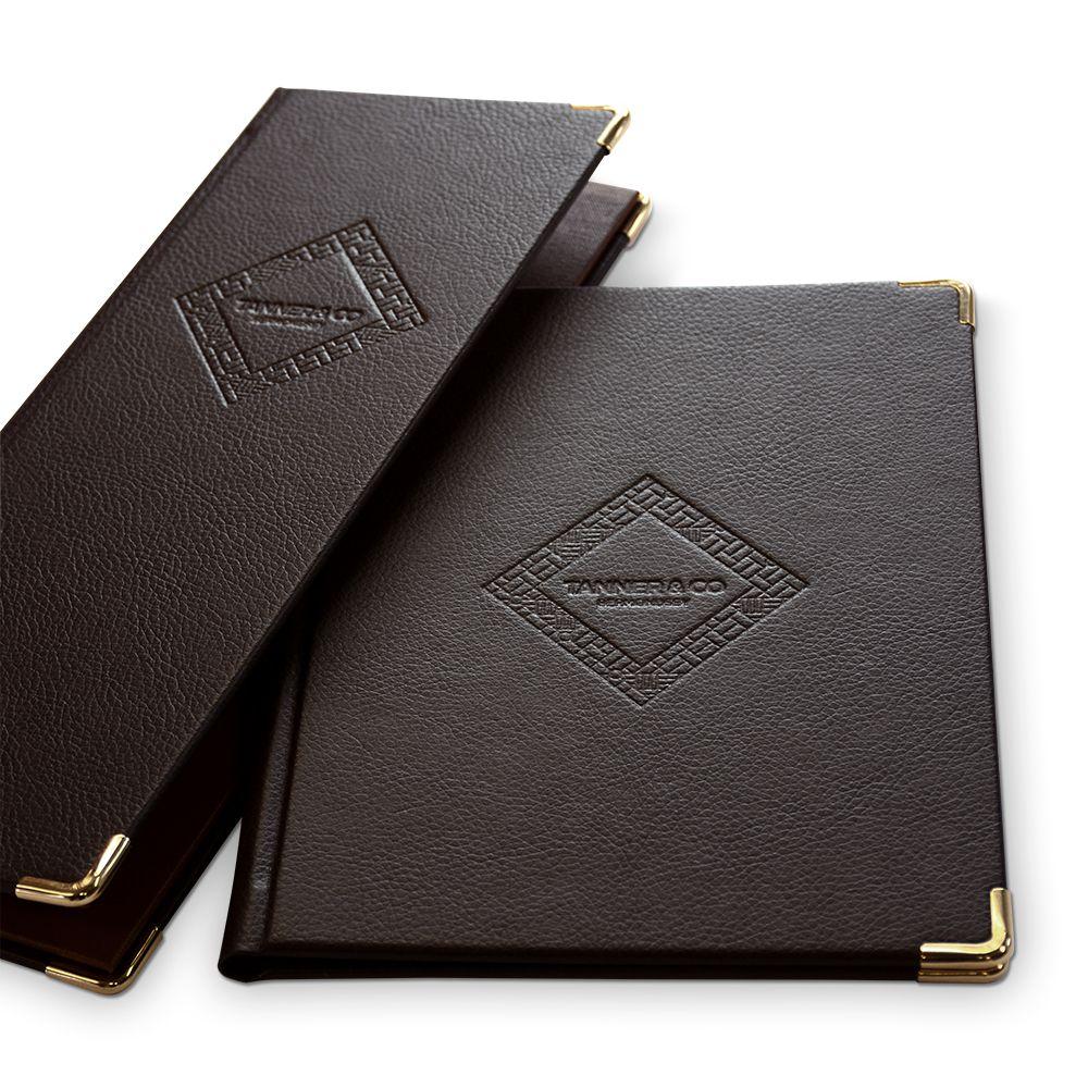 Image result for leather menus | menus | Pinterest | Menu
