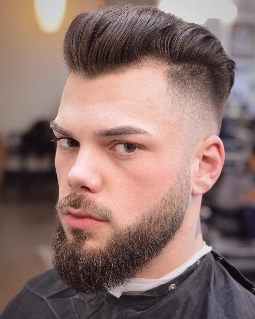 Blowout With Beard : blowout, beard, Elegant, Men's, Medium, Hairstyles, Creative, Check, Http://machohairstyles.com/bes…, Modern, Haircuts,, Haircut, Styles,, Pompadour