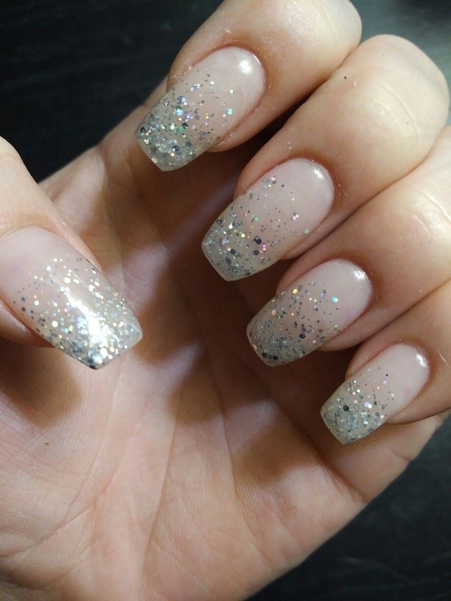 Ombre Sparkle Dnd Vast Galaxy Nails Opi Gel Nails Gel