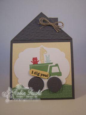 Fancy Fold Boys Birthday Card