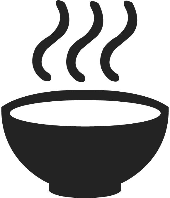 Hotel Hospitality Hot Soup Meal Dinner Bowl Free Stock Vector