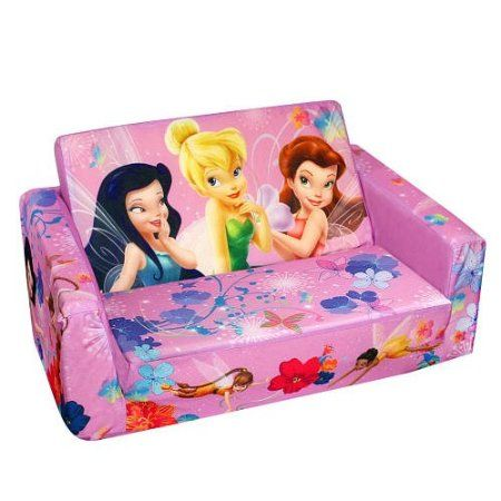 Amazon Com Disney Fairies Tinker Bell Pull Out Slumber Bed