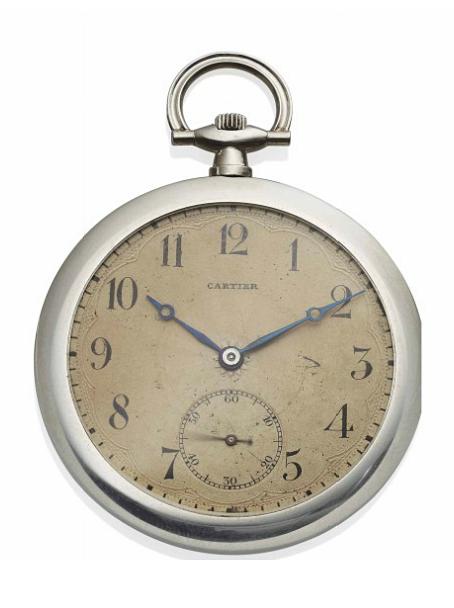 A Platinum Pocket Watch By Cartier Circa 1920 Pocket Watch Antique Pendant Watches Old Pocket Watches