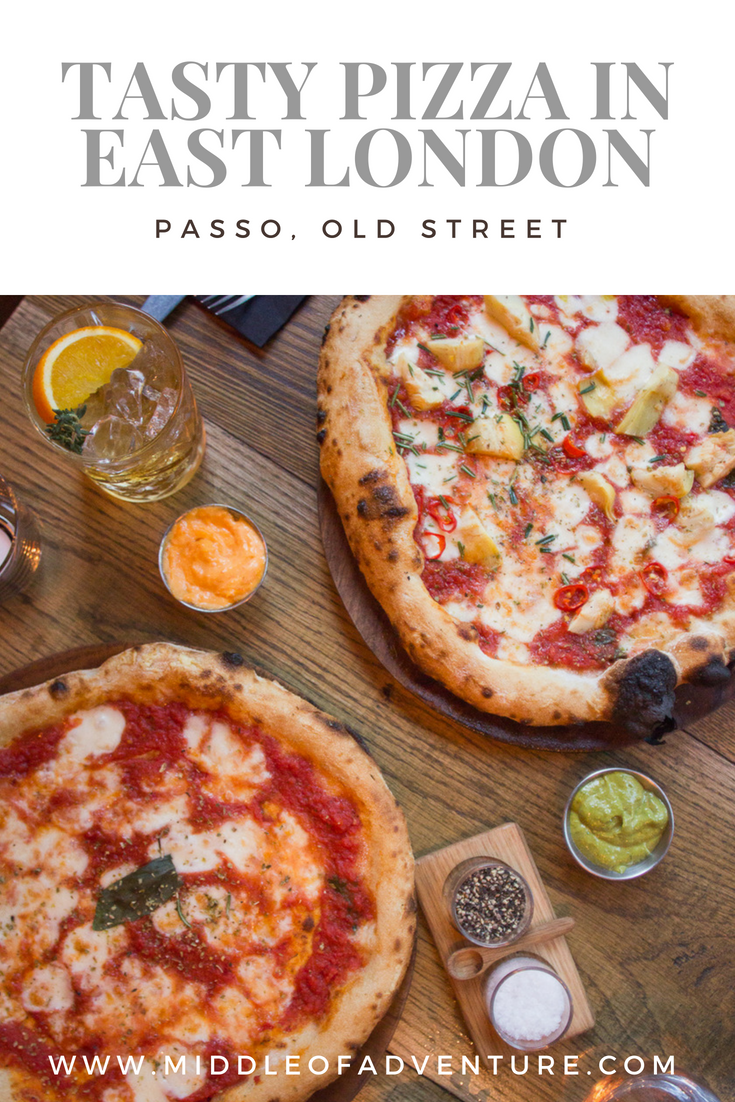 Pizza And Cocktails At Passo In Old Street London Middle Of Adventure Italian Recipes Foodie Food