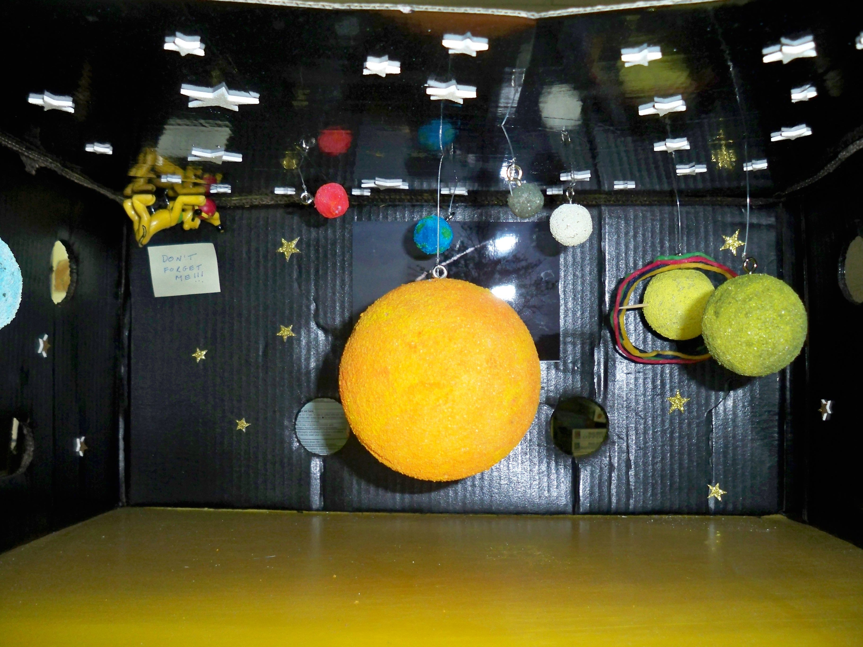 Solar System Model In A Box (page 2) - Pics about space