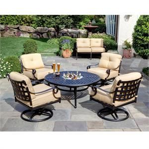 Fire Pit Chat Set   Conversation Patio Sets At Patio Furniture USA