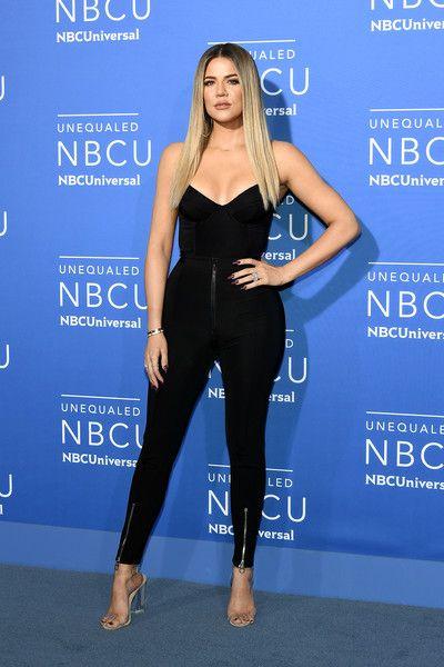 5c22de9d5ab Khloe Kardashian Skinny Pants - Khloe Kardashian amped up the allure with a  pair of zippered skinny pants