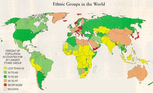 Folk Culture APHG Exam Study Material Pinterest Folk - new world map by population