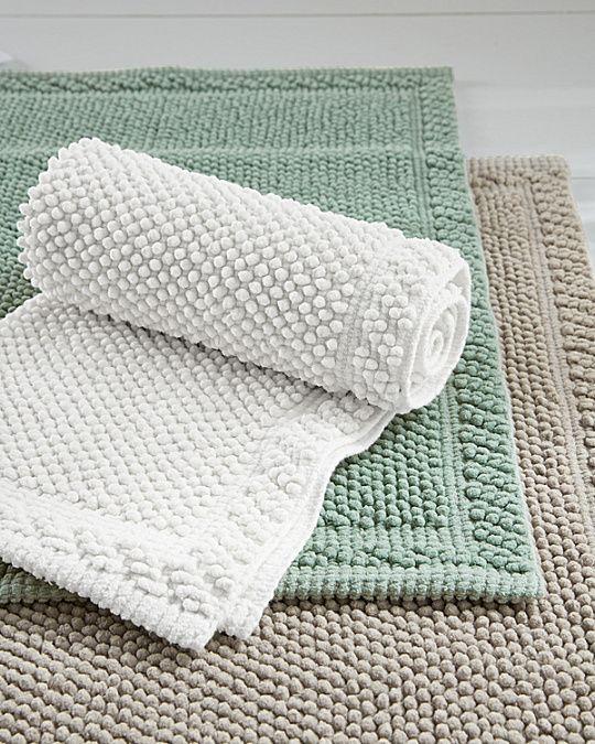 Organic Cotton Chenille Bath Rug Chenille Bath Rugs Bath Rug