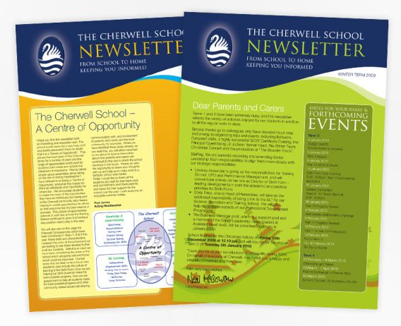 School Newsletter  Example