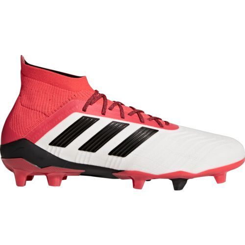 5a15f66c Adidas Men's Predator Ace 18.1 FG Soccer Cleats (White/Black, Size 9) -  Adult Soccer Shoes at Academy Sports