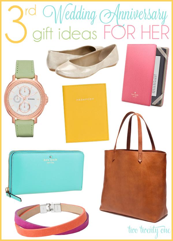Third Anniversary Gift Ideas For Her7 Year Giftwedding