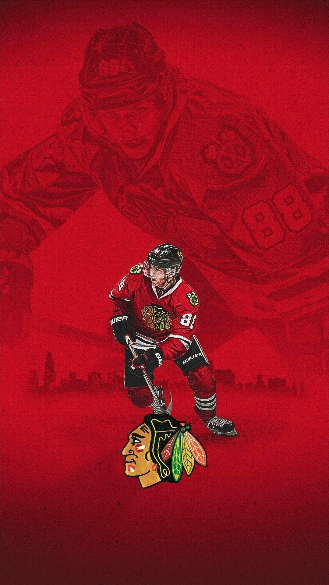 CHICAGO SPORTS TEAM ART Chicago blackhawks wallpaper
