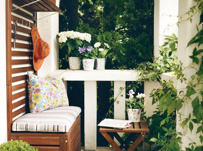 4 styles pour un balcon jardin outdoor beautiful. Black Bedroom Furniture Sets. Home Design Ideas