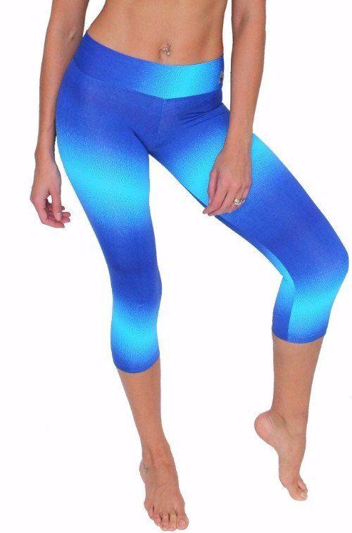 9753522e60 tie dye pants Blue tie-dye leggings tie-dye pants printed yoga .