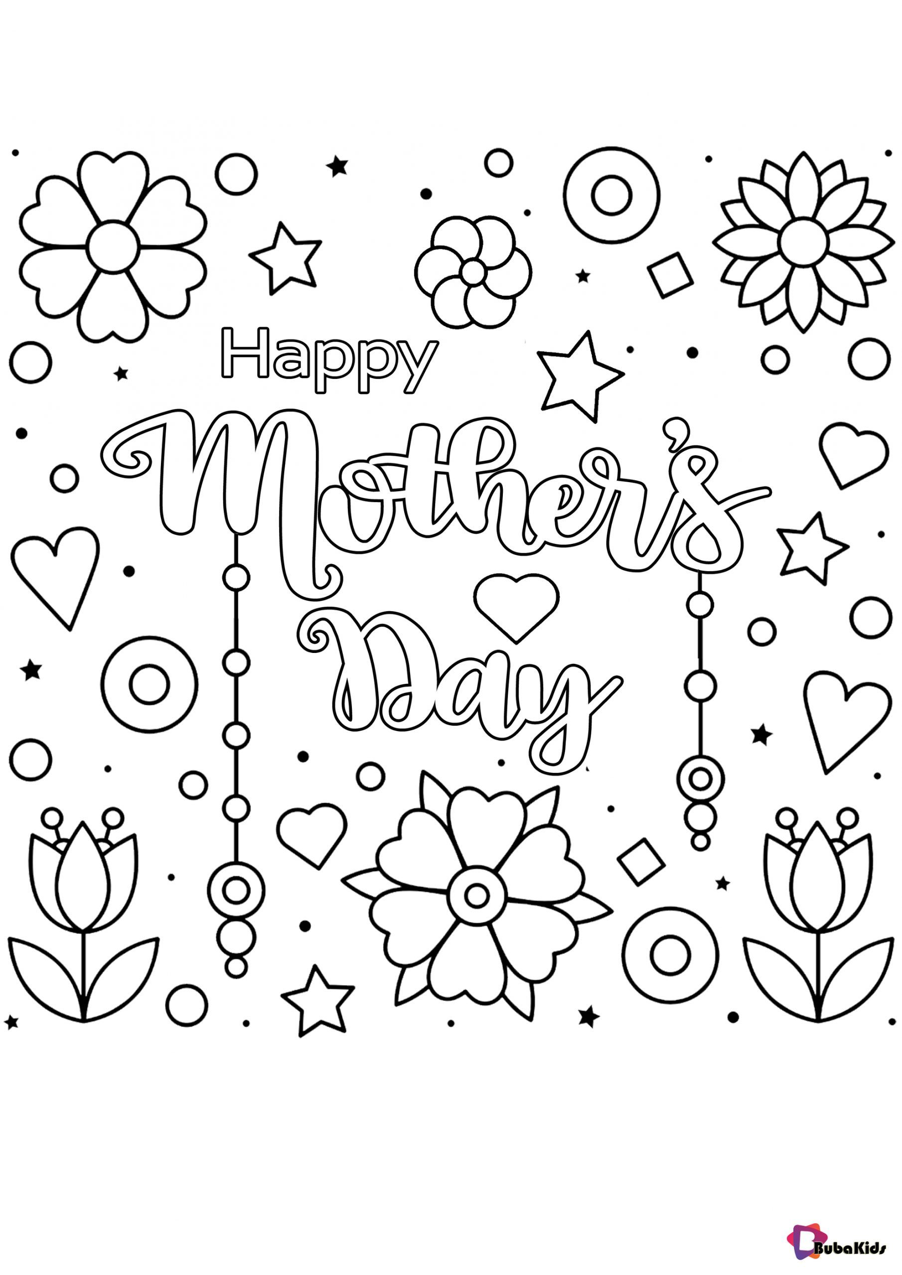 Free Download Mother S Day Coloring Pages Flowers Hearts Collection Of Cartoon Coloring Pages F Mothers Day Coloring Pages Heart Coloring Pages Coloring Pages