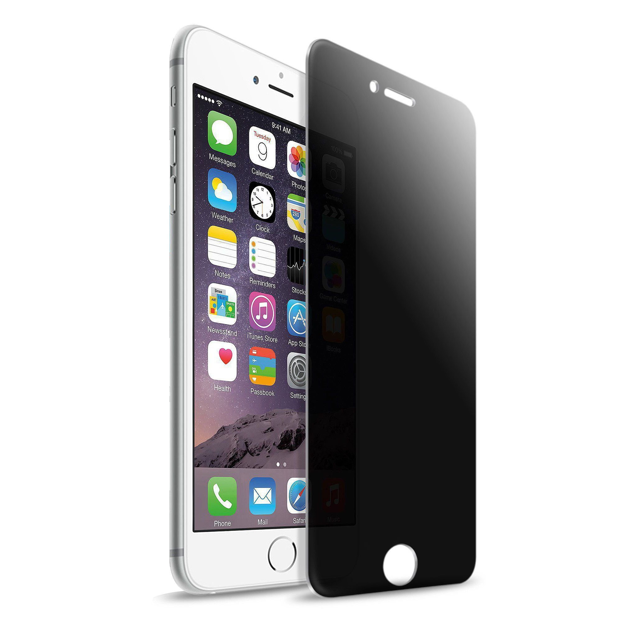 Insten privacy antispy tempered glass screen protector