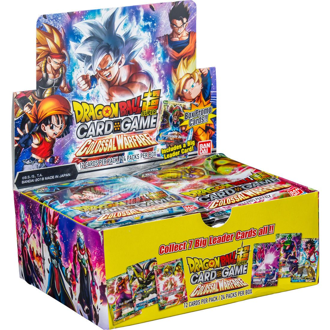 Ccg sealed booster packs 183456 dragon ball super tcg