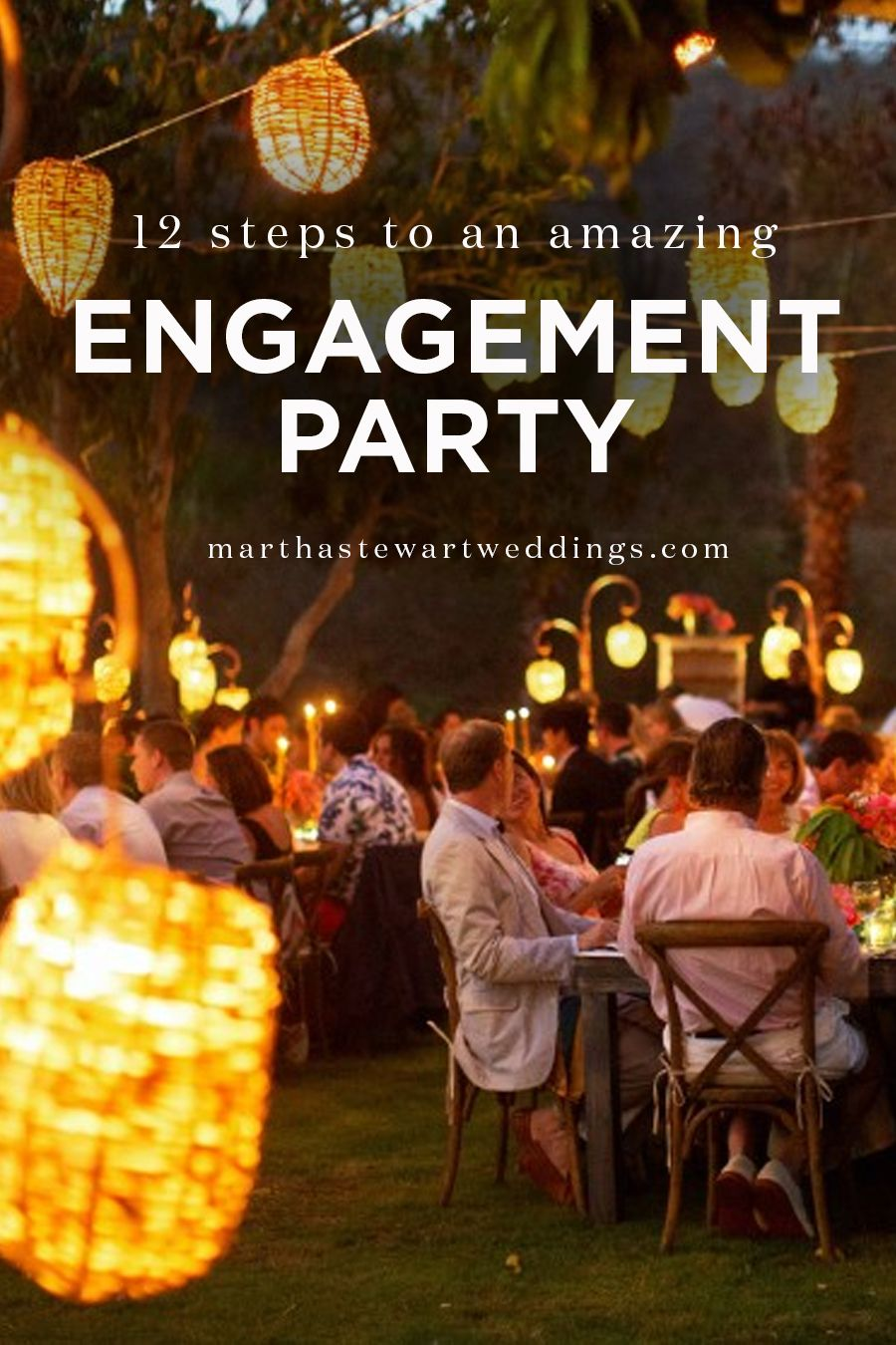 Your Engagement Party Checklist