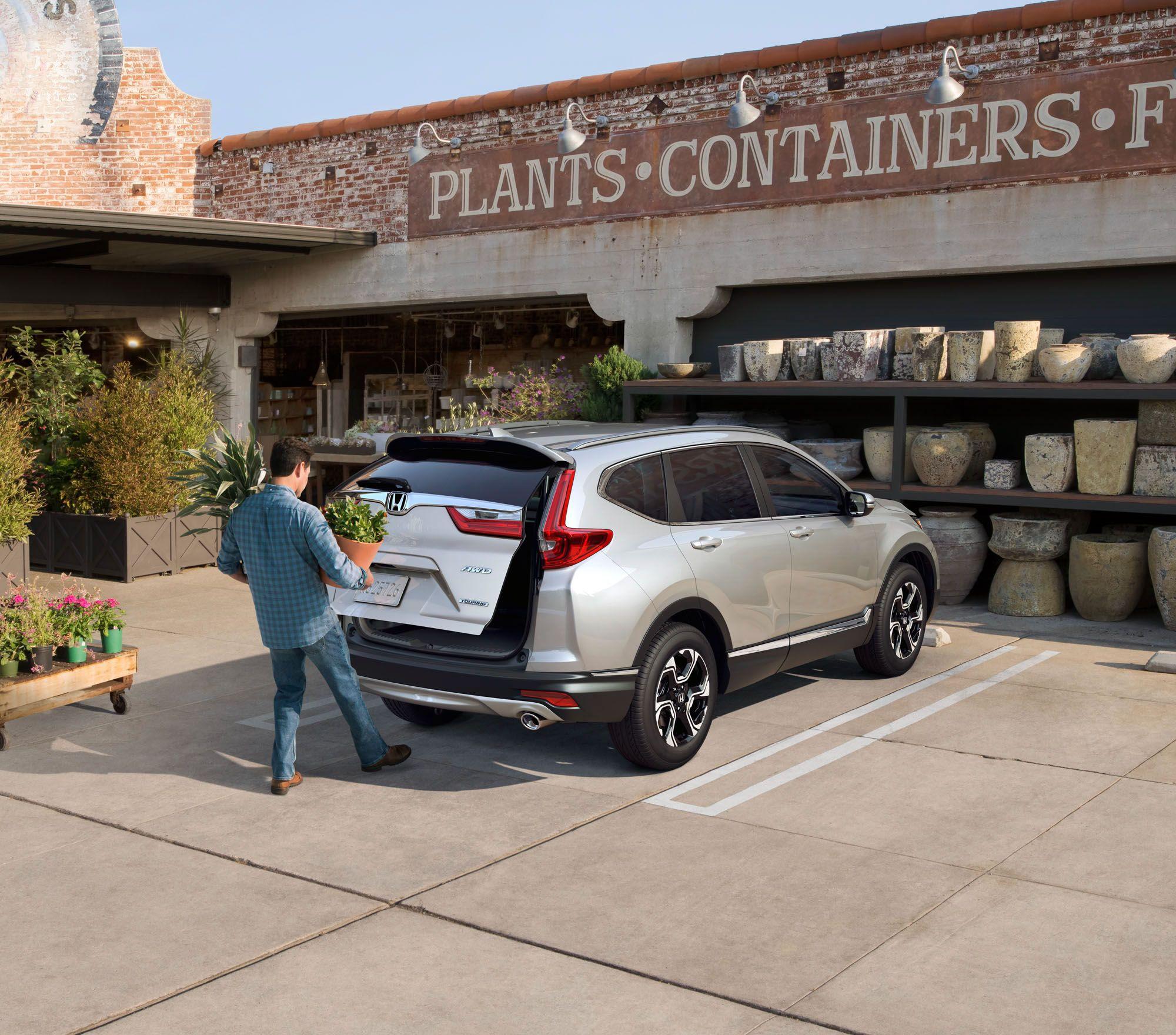 Honda crv 2017 on behance