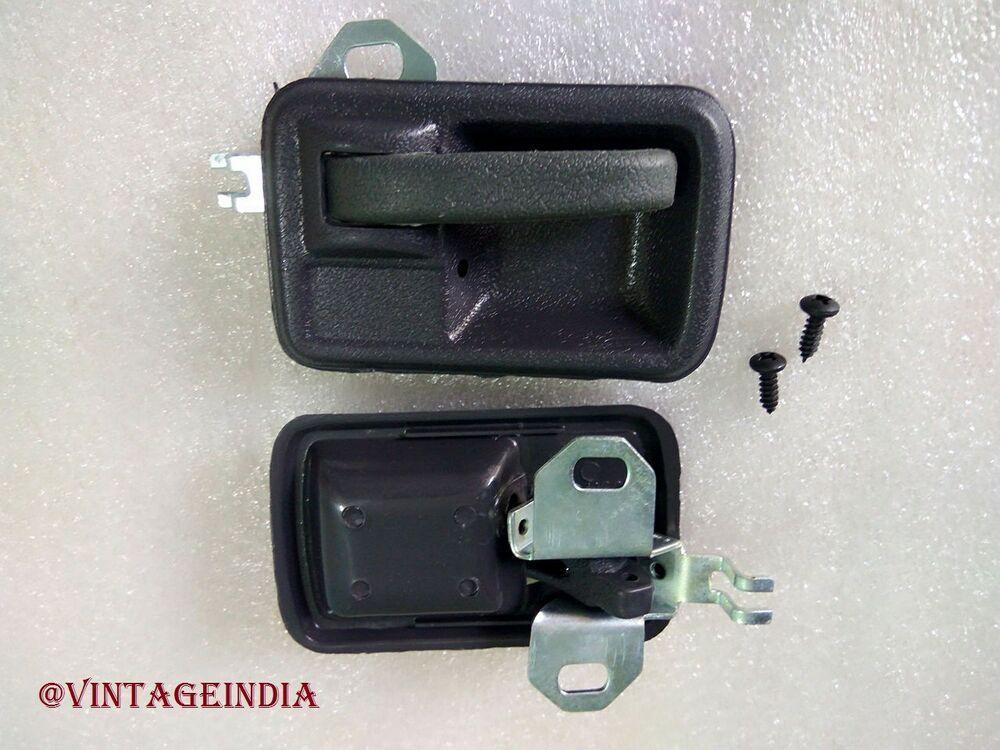 INSIDE INTERIOR DOOR HANDLE SET LH//RH SUZUKI SAMURAI SIERRA GYPSY NEW BRAND