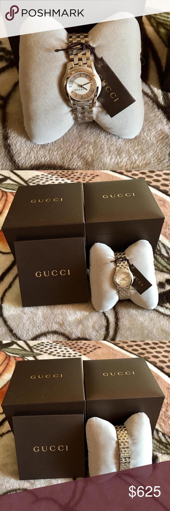 09f0e4aa019 GUCCI Womens Watch Brand new in original packaging 100% authentic! Price  firm Gucci Accessories